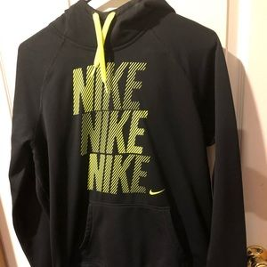 Womens Nike Therma Fit hoodie and athletic pants